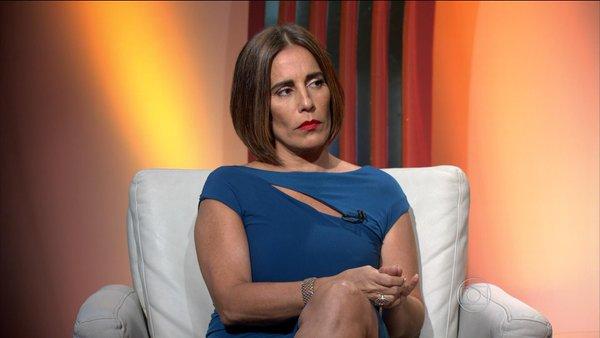 """Gloria Pires na transmissão do """"Oscar 2016"""" na Globo (Foto: Reprodução/Globo)"""