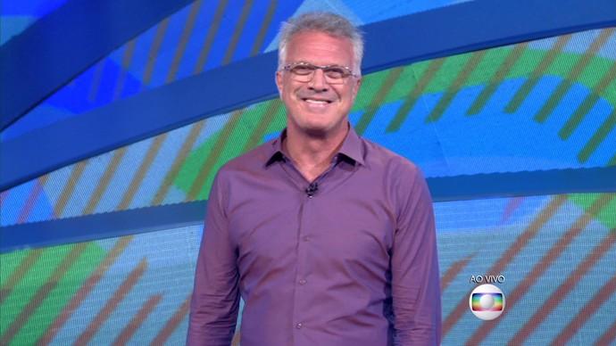 """Pedro Bial no """"BBB 16"""" (Foto: Reprodução/Globo)"""