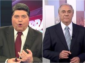 Rezende e Datena falaram da Globo quase de forma simultânea (Foto: Divulgação/Montagem)