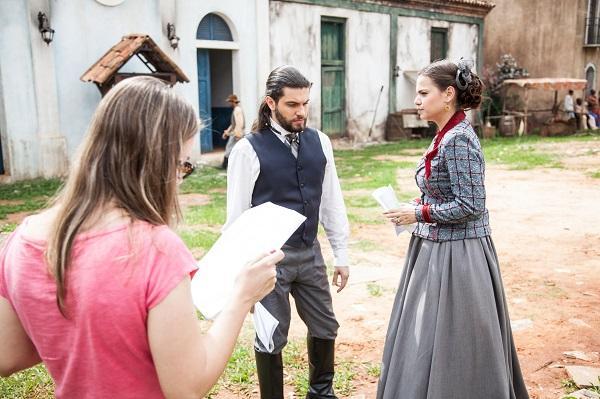 """Imagem da novela """"Escrava Mãe"""" (Foto: Divulgação)"""