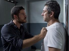 Dante (Marco Pigossi) e Romero (Alexandre Nero) (Foto: Globo/Estevam Avellar)