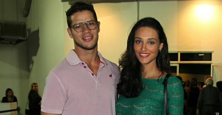 O casal de atores José Loreto e Débora Nascimento (Divulgação/TV Globo)