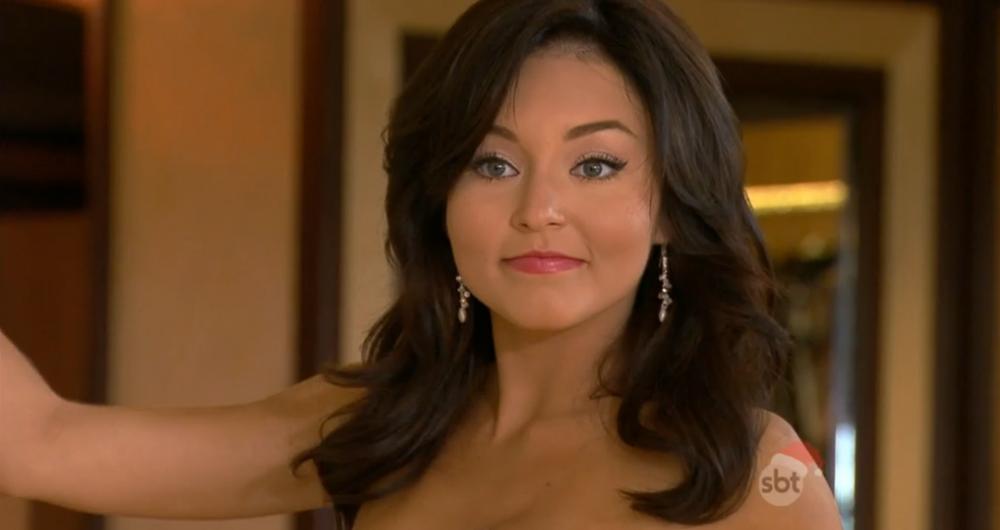 """Angelique Boyer (Teresa) em cena de """"Teresa"""" (Foto: Reprodução/SBT)"""