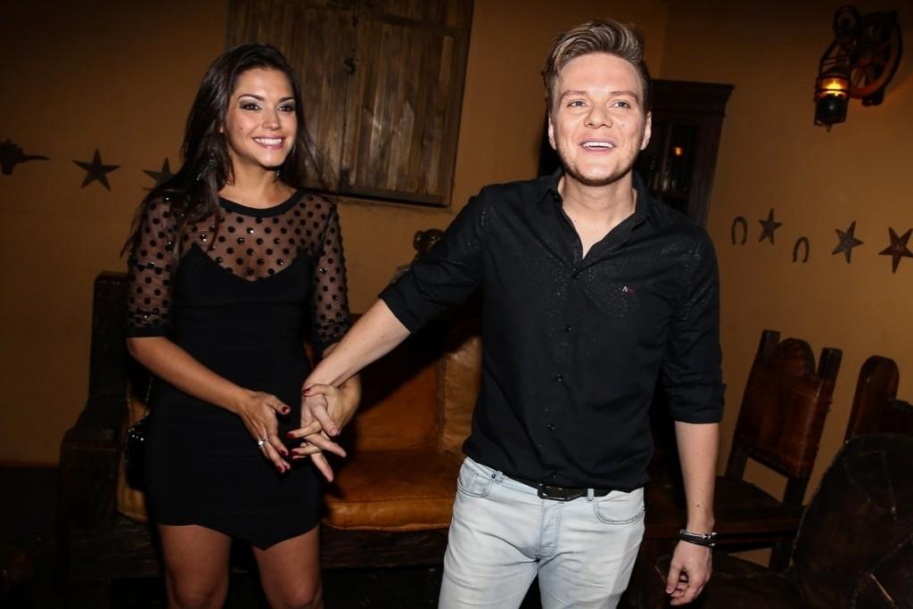 Thais Fersoza e o sertanejo Michel Teló teve fim do casamento cogitado após foto do irmão do cantor (Foto: Divulgação)
