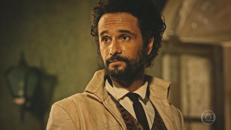 """Afrânio (Rodrigo Santoro) em cena de """"Velho Chico"""" (Foto: Reprodução/Globo)"""