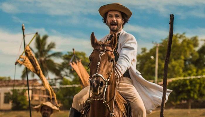 """Afrânio (Rodrigo Santoro) em cena de """"Velho Chico"""" (Foto: Globo/Caiuá Franco)"""