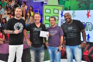 Elenco do Encrenca (Foto: Fernanda Simão/Divulgação RedeTV!)