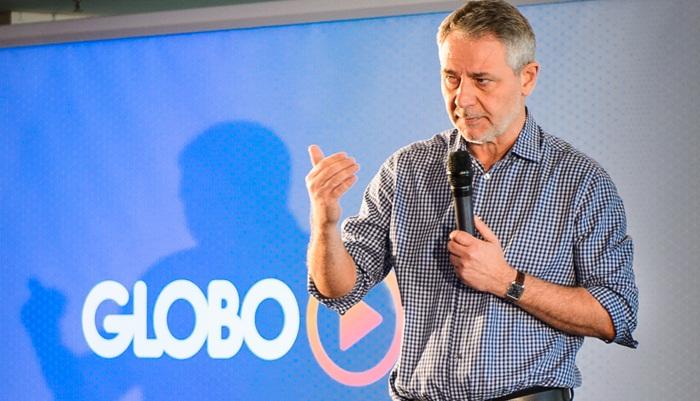 Carlos Henrique Schroder, diretor geral da Globo, no lançamento do Globo Play (Foto: Divulgação/Globo)