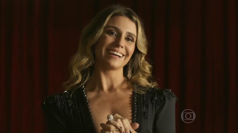 """Atena (Giovanna Antonelli) em cena do último capítulo de """"A Regra do Jogo"""" (Foto: Reprodução/Globo)"""