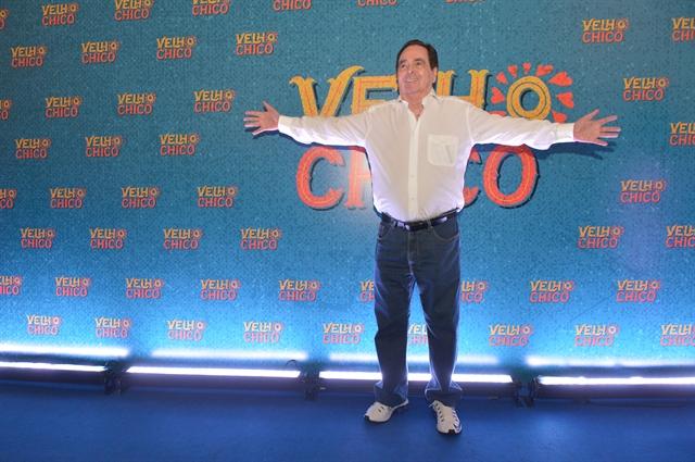 Benedito Ruy Barbosa na Globo. (Foto: Globo/João Miguel Junior)