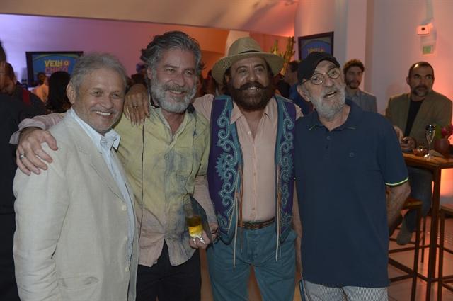 Francisco Carvalho, Leopoldo Pacheco, Xangai e Fernando Teixeira (Foto: Globo/Renato Miranda)