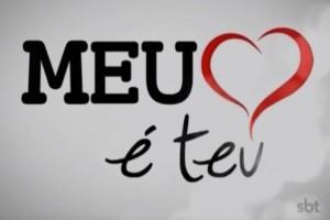 Logo da novela do SBT Meu Coração é Teu (Foto: Divulgação)