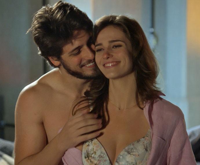 Rafael e Sofia (Foto: Divulgação)