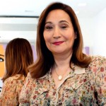 Jornalista e apresentadora Sônia   Abrão.