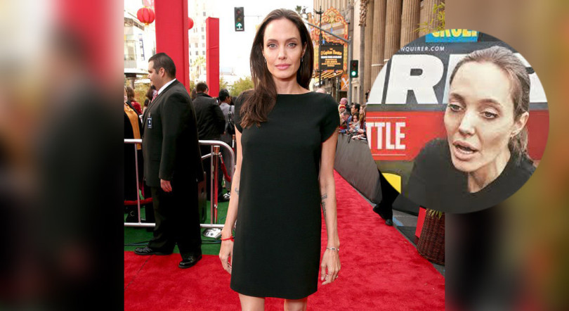 Tabloide americano diz que Angelina Jolie está internada a lutar pela vida