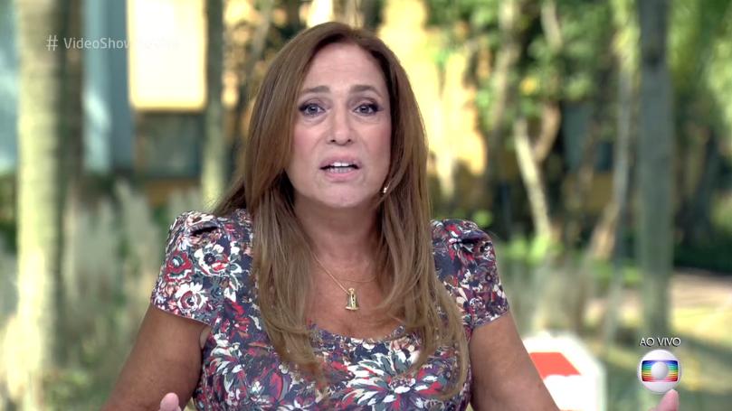 """Susana Vieira no """"Vídeo Show"""" de ontem (21) (Foto: Reprodução/Globo)"""