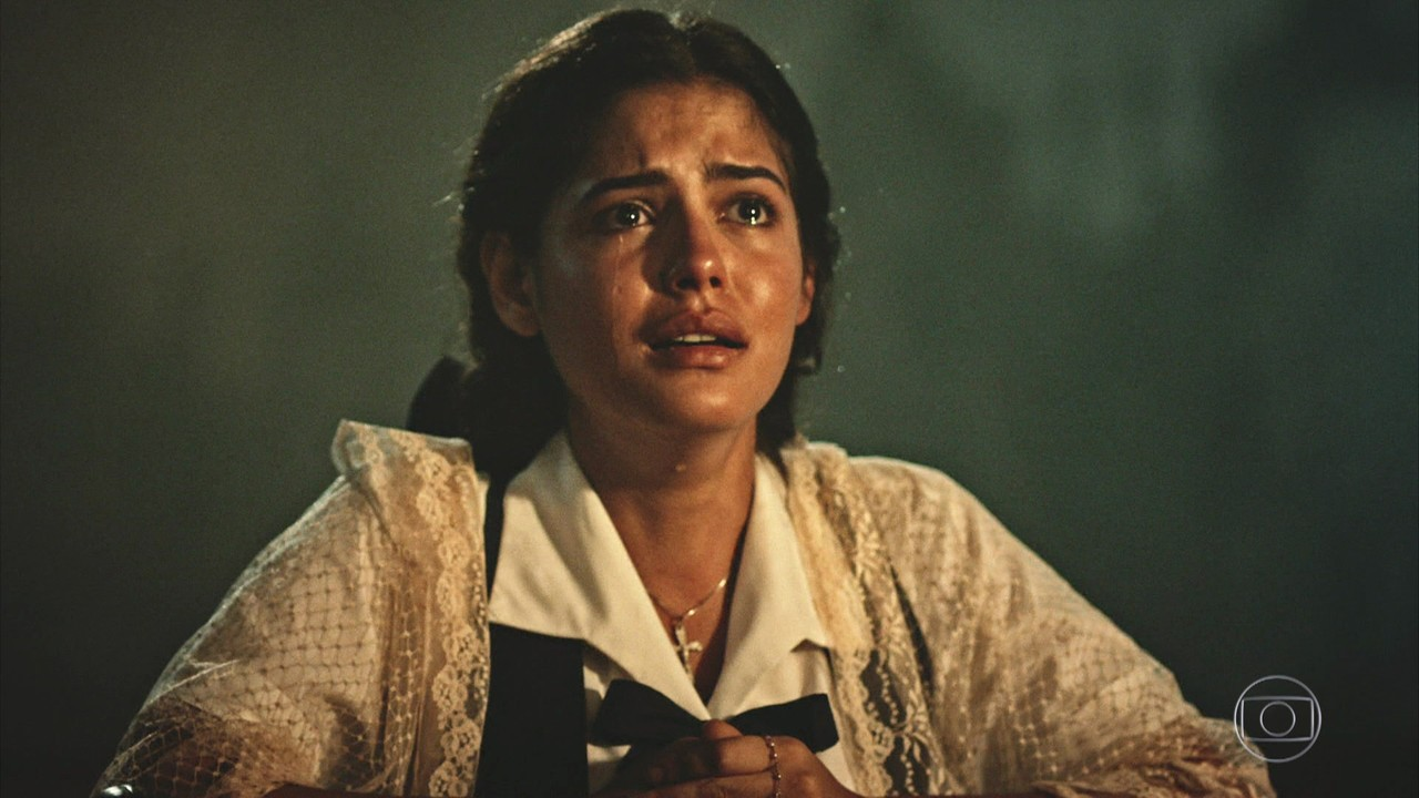 """Maria Tereza (Julia Dalavia) em cena de """"Velho Chico"""" (Foto: Reprodução/Globo)"""
