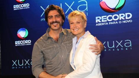Xuxa e o namorado, Junno (Foto: Divulgação)