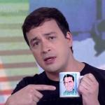 """Rafa Cortez no """"Vídeo Show"""" (Foto: Divulgação)"""