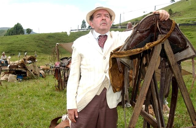 """Umberto Magnani como Chico Bento em """"Cabocla"""" (2004) (Foto: Globo/João Miguel Júnior)"""