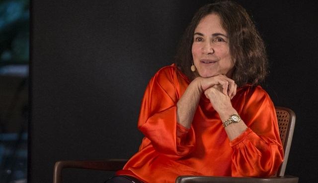 Regina Duarte no 'Ofício em Cena', na Globo News (Foto: Globo/João Cotta)