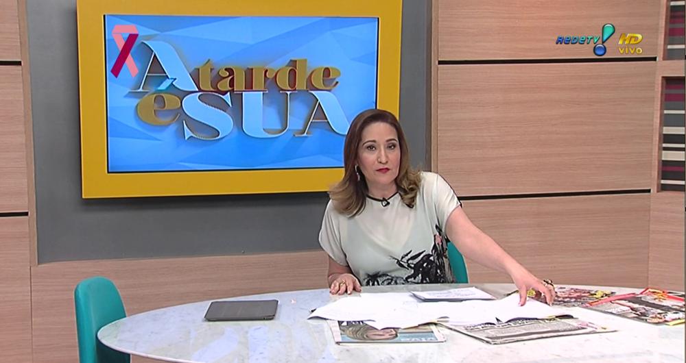 A Tarde Sua Completa 10 Anos E Ganha Novo Cenrio Na RedeTV TV Foco