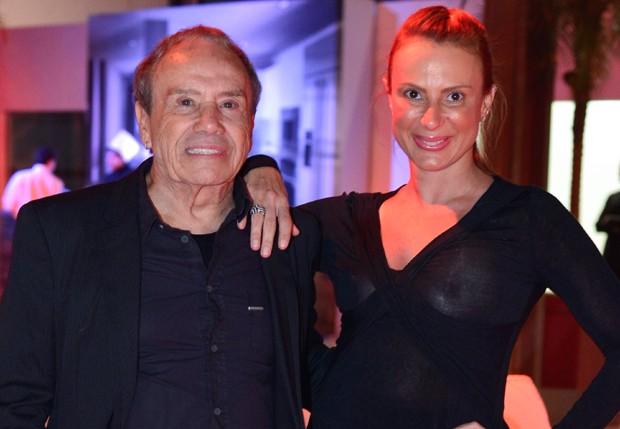 Stênio Garcia e a mulher, Marilene Saade (Foto: André Muzell/AgNews