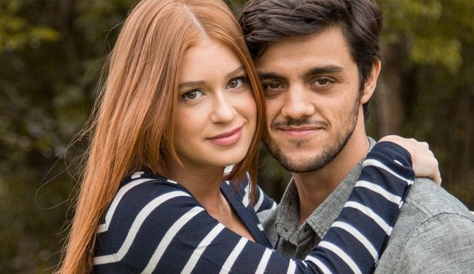 "Eliza (Marina Ruy Barbosa) e Jonatas (Felipe Simas) em ""Totalmente Demais"" (Foto: Fabiano Battaglin/Gshow)"