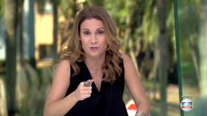 """Maíra Charken no """"Vídeo Show"""" de 25 de abril, última vez que apareceu na bancada do programa (Foto: Reprodução/Globo)"""