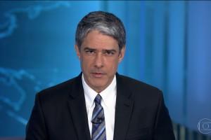 """William Bonner no """"JN"""" de ontem (02) (Foto: Reprodução/Globo)"""