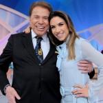 Silvio Santos e Patricia Abravanel (Foto: Lourival Ribeiro/SBT)