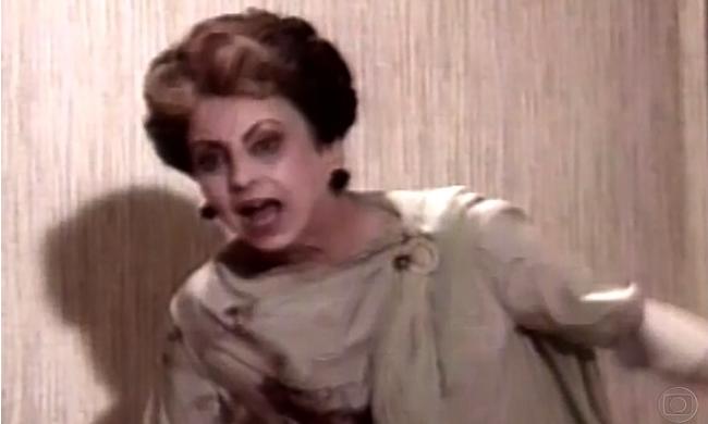 """Beatriz Segall como Odete Roitman em """"Vale Tudo"""" (Foto: Memória Globo/TV Globo)"""