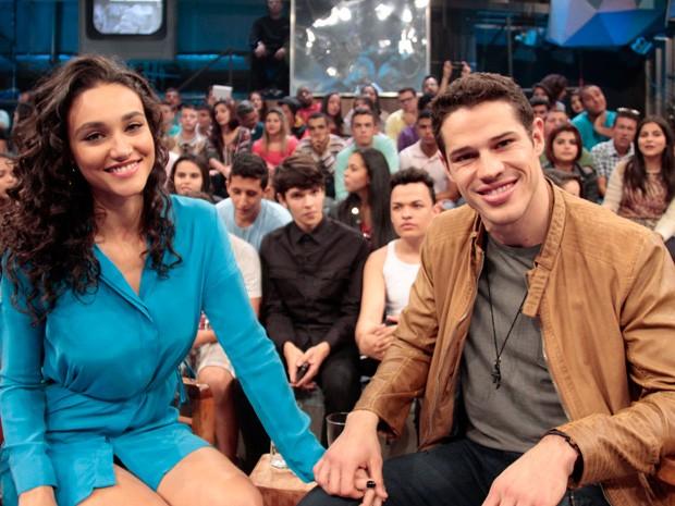 José Loreto e a esposa Débora Nascimento (Foto: Divulgação)