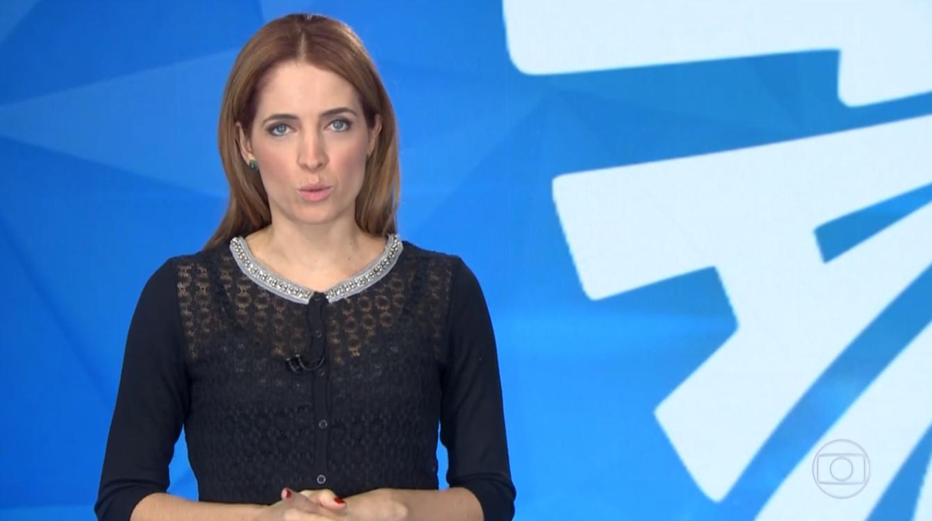 """Poliana Abritta em chamada do """"Fantástico"""" (Foto: Reprodução/Globo)"""