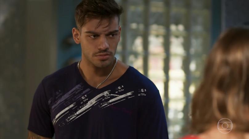 """Uodson (Lucas Lucco) em cena de """"Malhação: Seu Lugar no Mundo"""" (Foto: Reprodução/Globo)"""