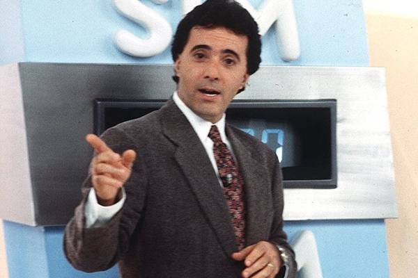 """Tony Ramos na apresentação do """"Você Decide"""" (Foto: Reprodução/Globo)"""