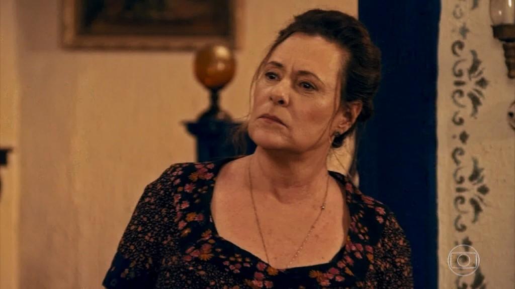 """Cunegundes (Elizabeth Savala) em cena de """"Êta Mundo Bom"""" (Foto: Reprodução/Globo)"""