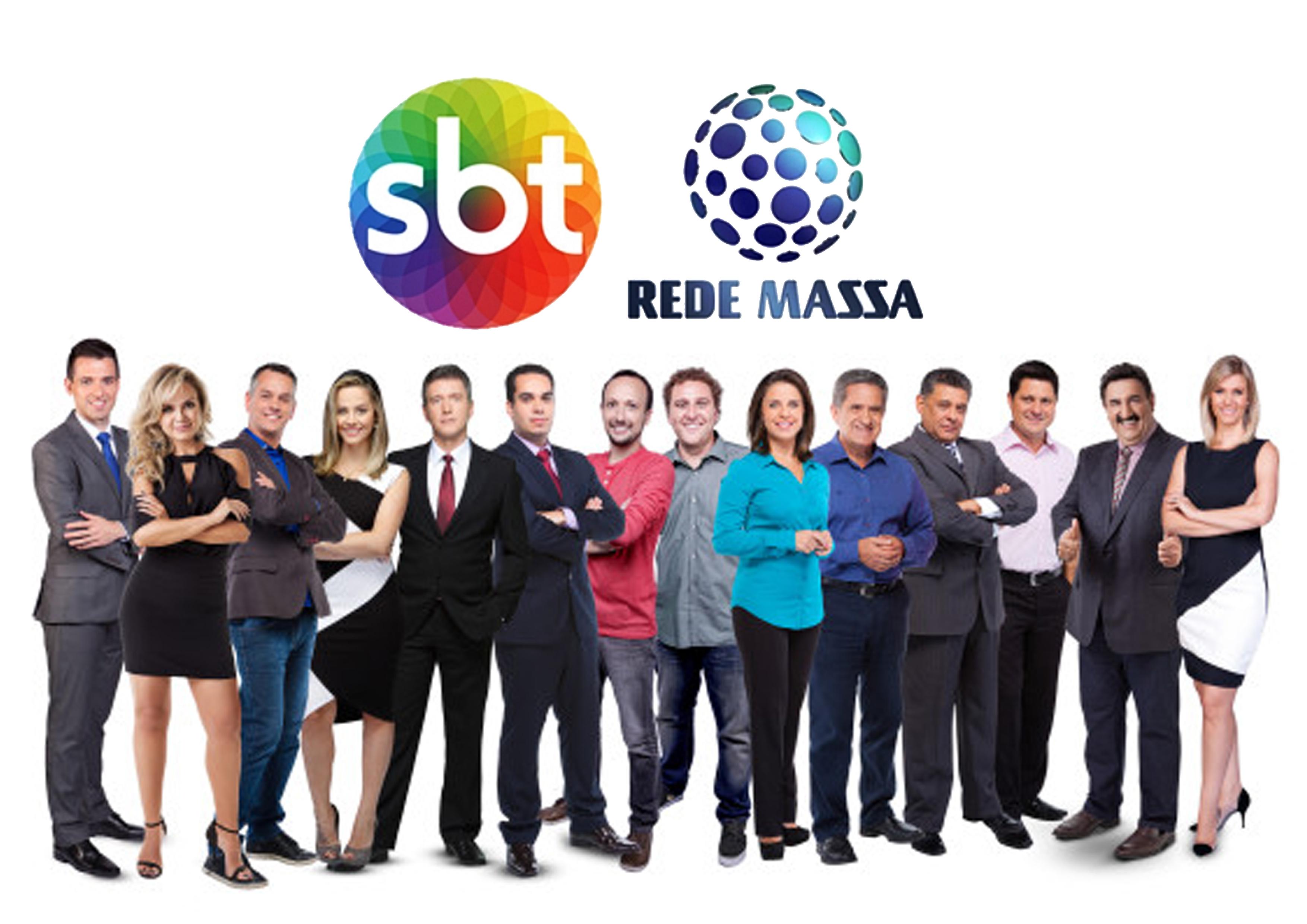 Apresentadores da Rede Massa (Foto: Divulgação)