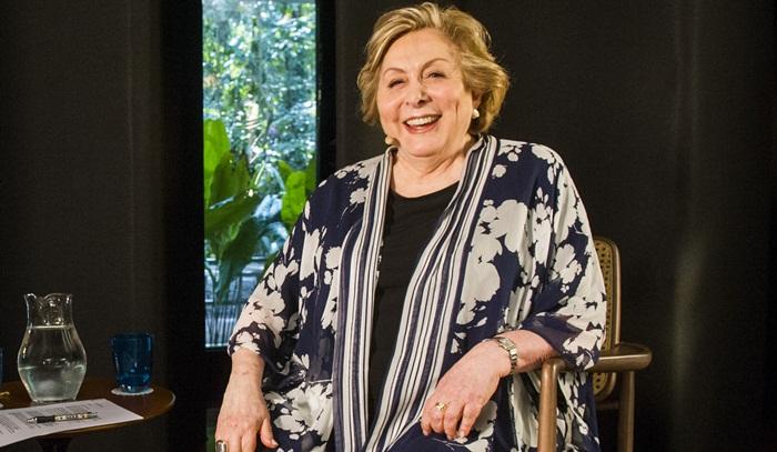Aracy Balabanian em entrevista ao programa Ofício em Cena, na GloboNews (Foto: Globo/João Miguel Júnior)