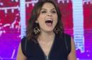 """Monica Iozzi em sua despedida do """"Vídeo Show"""" (Foto: Globo/Estevam Avellar)"""