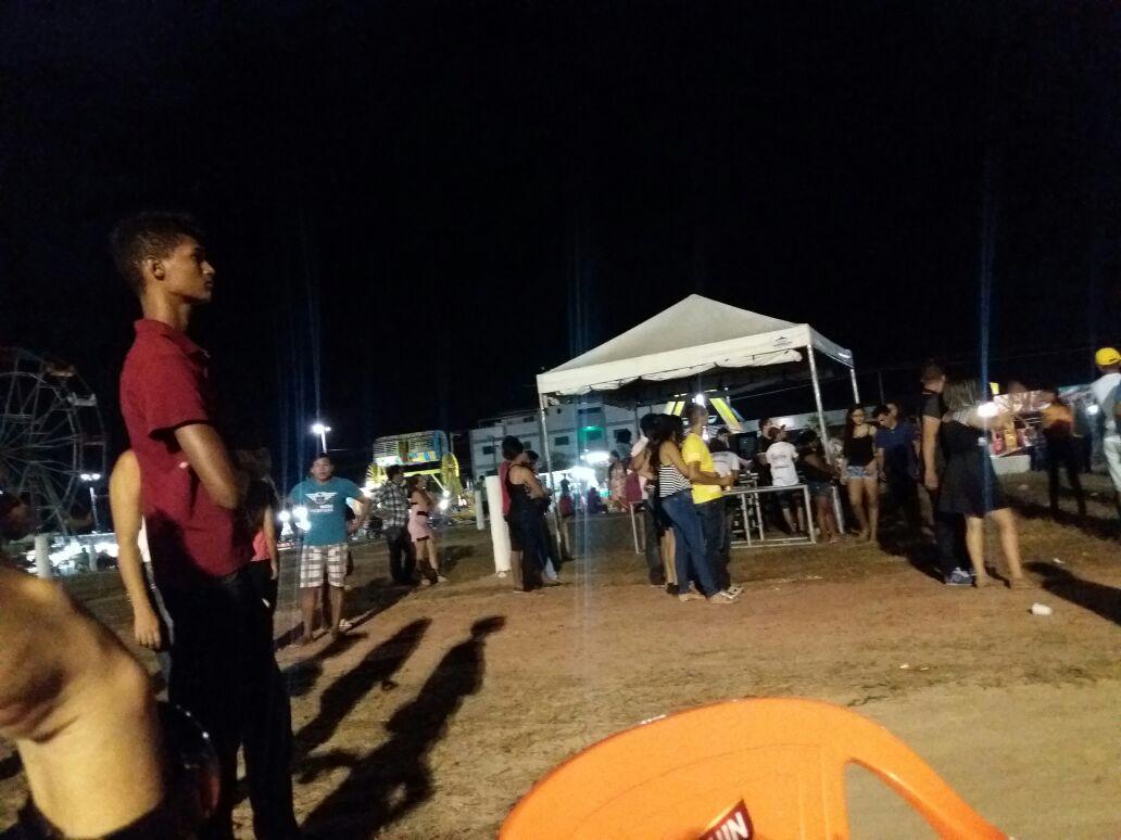 Show de Joelma no Maranhão fica vazio (Foto reprodução)