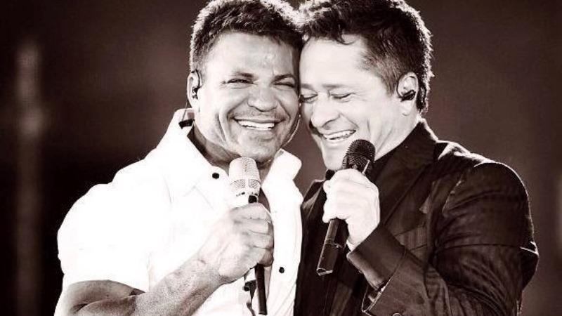 Eduardo Costa e Leonardo (Foto: divulgação)