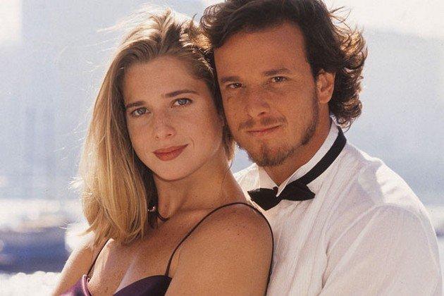 leticia Spiller e Marcello Novaes (Foto: Divulgação)