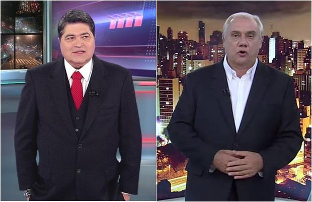 Resultado de imagem para Datena e Marcelo Rezende: