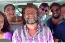"""O elenco de """"Dois Irmãos"""" com o diretor Luiz Fernando Carvalho (Foto: Divulgação)"""