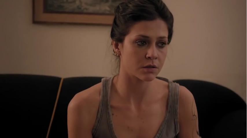 """Christiana Ubach (Joana), a protagonista de """"A Garota da Moto"""" (Foto: Reprodução/SBT)"""