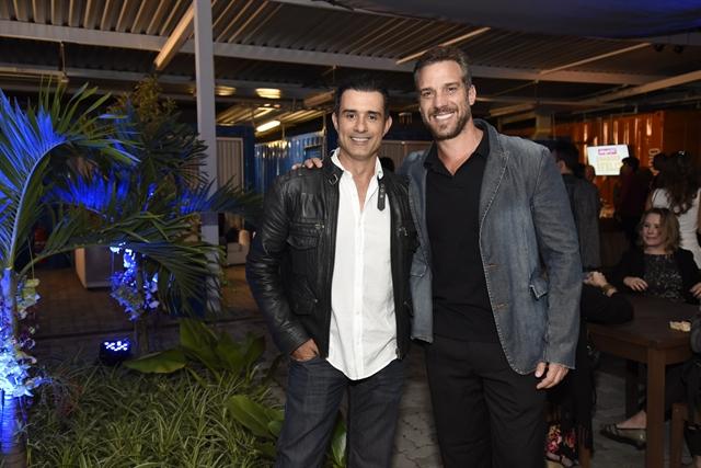 Marcos Pasquim e Carlos Bonow (Foto: Globo/Cesar Alves)