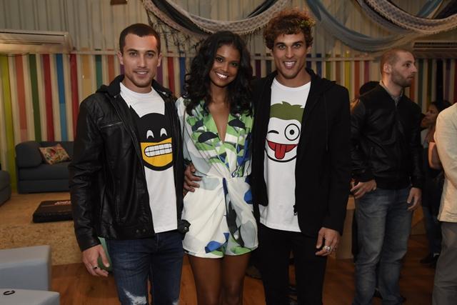 Ricardo Vianna, Aline Dias e Felipe Roque (Foto: Globo/Cesar Alves)