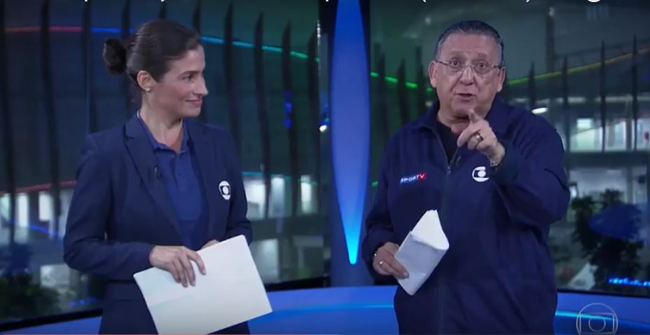 Globo apresenta estúdio olímpico no