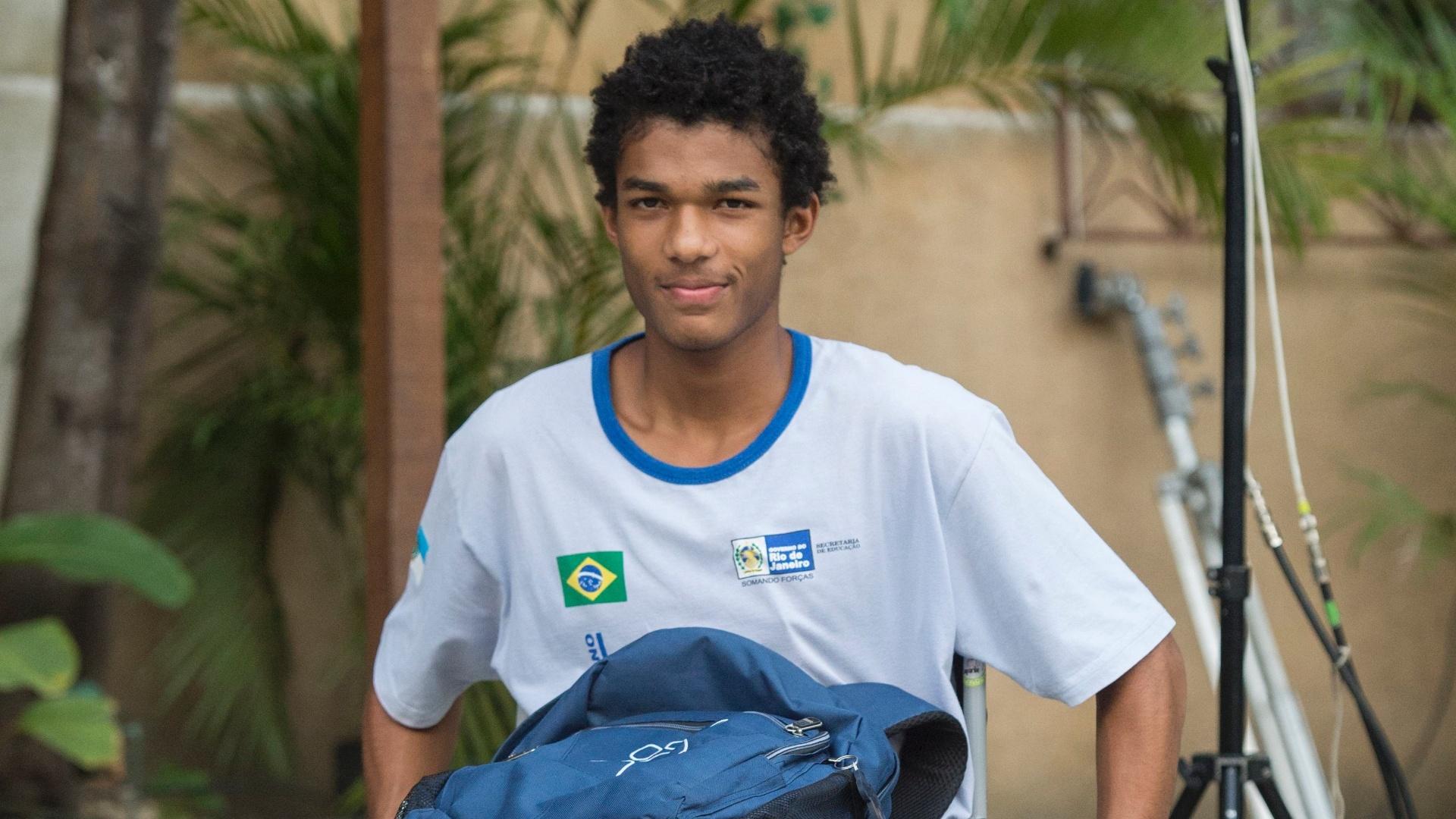 Wesley (Juan Paiva) em Totalmente Demais (Foto: Divulgação/Globo)